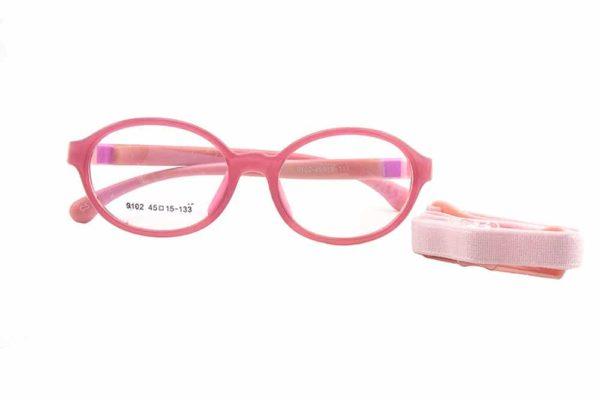 Kids' Flexible Round Glasses model 9102