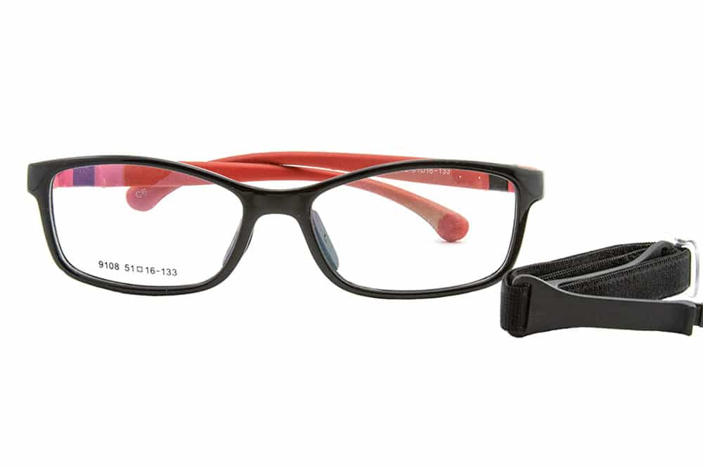 Kids mod. 9108 black red